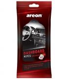 Areon cockpit wipes 25 pcs (citrón)