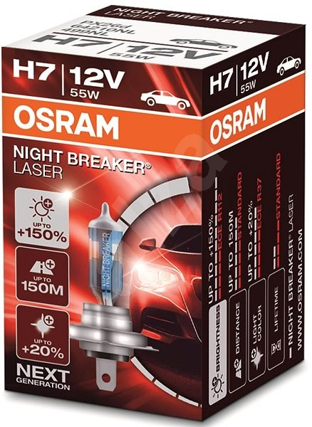 Osram Night Breaker Laser NG H7 55W/12V 1ks