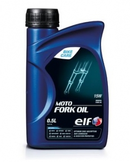 ELF Moto Fork Oil 15W 500ml