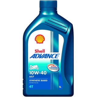 Shell Advance AX7 4T 10W-40 1L