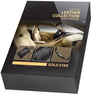 Areon Leather Collection Gold Star