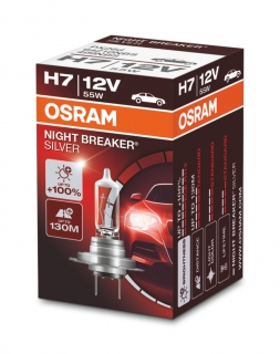 OSRAM H7 Night Breaker Silver 12V 55W